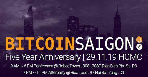 5 Year Anniversary of Bitcoin Saigon