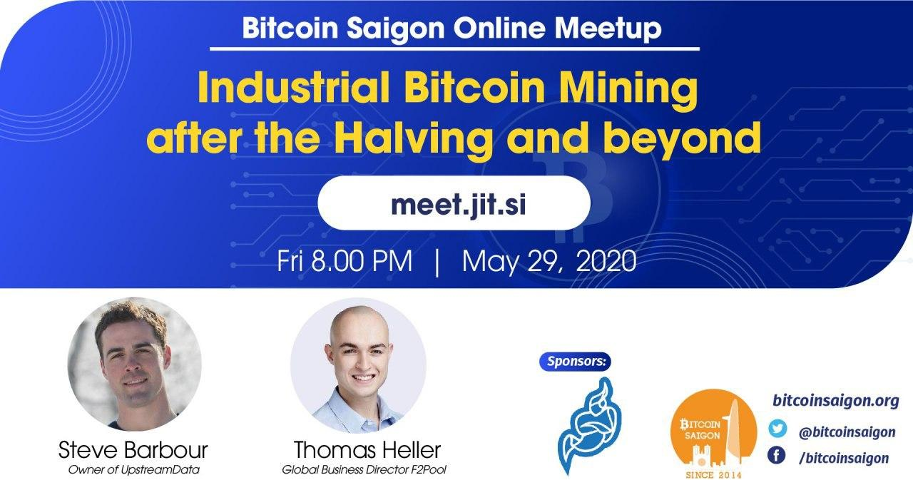 Industrial Bitcoin Mining after the Halving and beyond
