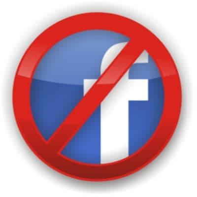 Reduction of Facebook Online Presence